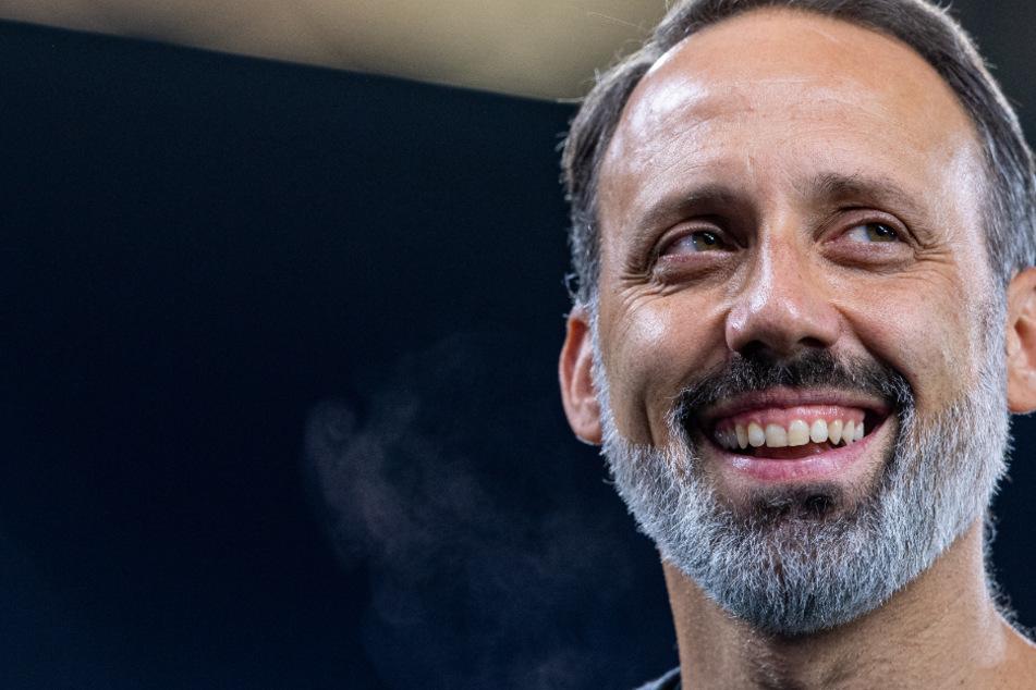 Dürfte mit seinem Team nach dem Test gegen Heidenheim zufrieden gewesen sein: VfB-Coach Pellegrino Matarazzo (42).