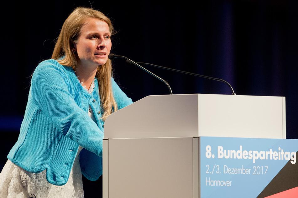 Landeschefin Corinna Miazga (38, AfD) ist Landeschefin der Partei in Bayern.