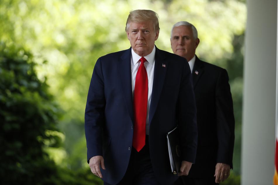"""Donald Trump über Vizepräsident Pence: """"Ich vermisse ihn!"""""""