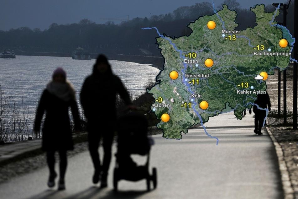 Am Wochenende bleibt's frostig, aber sonnig in NRW