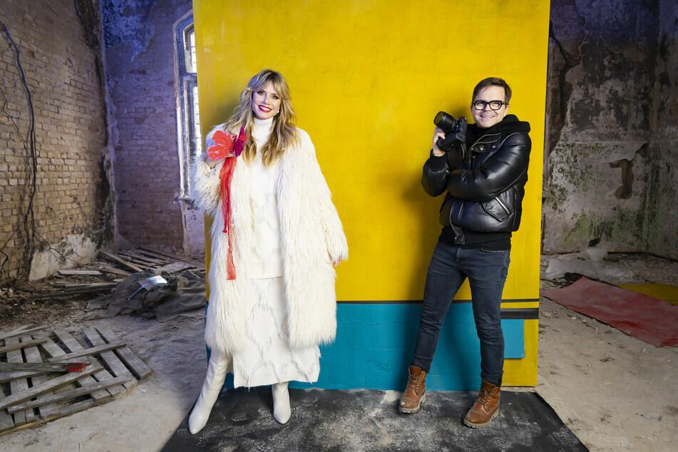 Heidi Klum (47) und Modefotograf Kristian Schuller (50) arbeiten seit 15 Jahren zusammen am GNTM-Set.