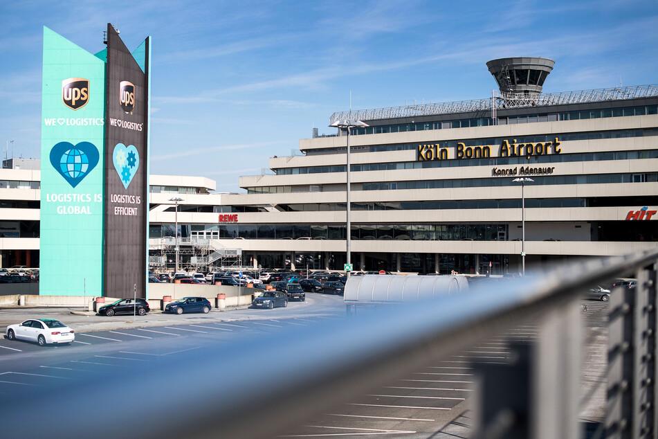 Das Terminal des Flughafen Köln/Bonn.