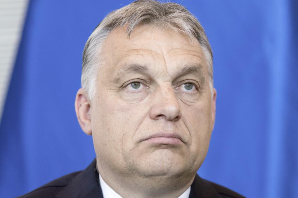 Der ungarische Ministerpräsident Viktor Orban (57). (Archivbild)