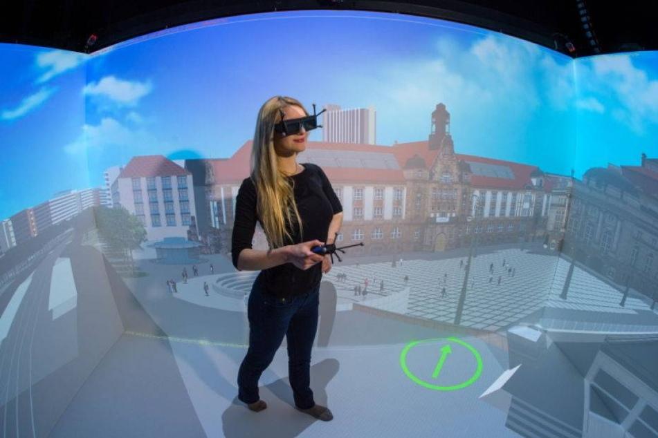 Chemnitzer Forscher entwickeln mobilen 3D-Container