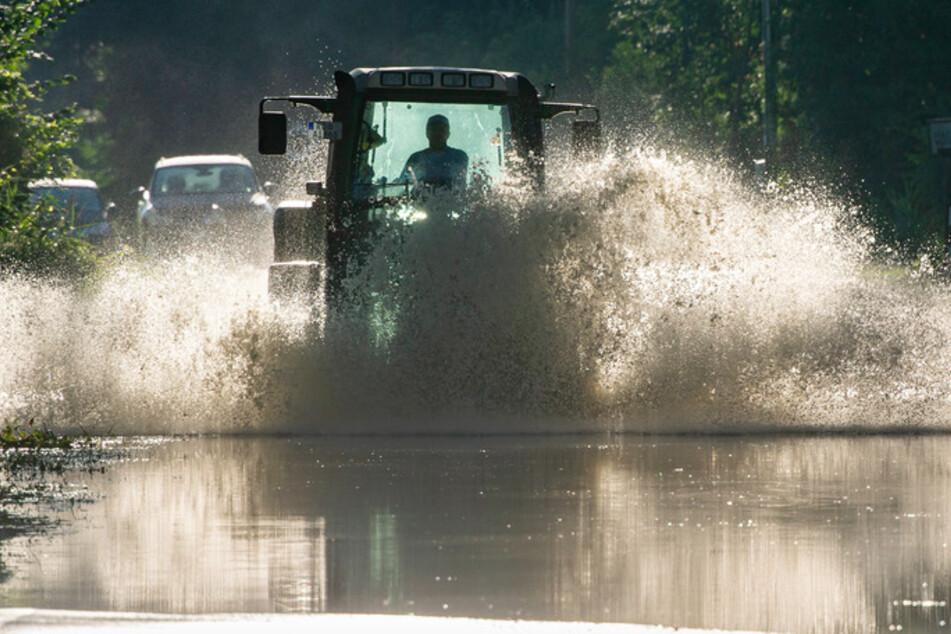 Hochwasserlage entspannt sich: Pegel in Bayern gehen zurück