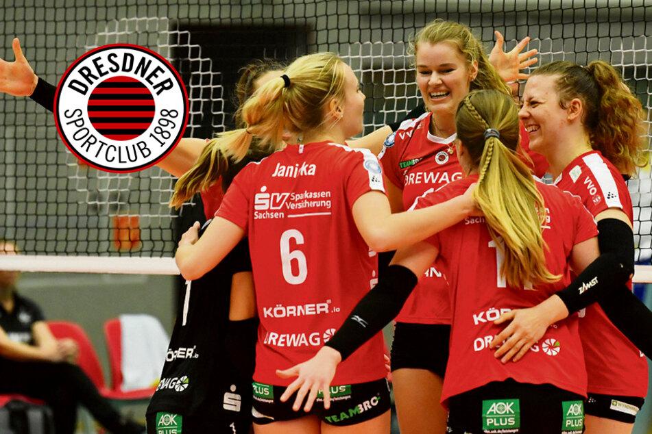Vor nur 150 Fans: Die DSC-Girls fertigen Münster glatt mit 3:0 ab