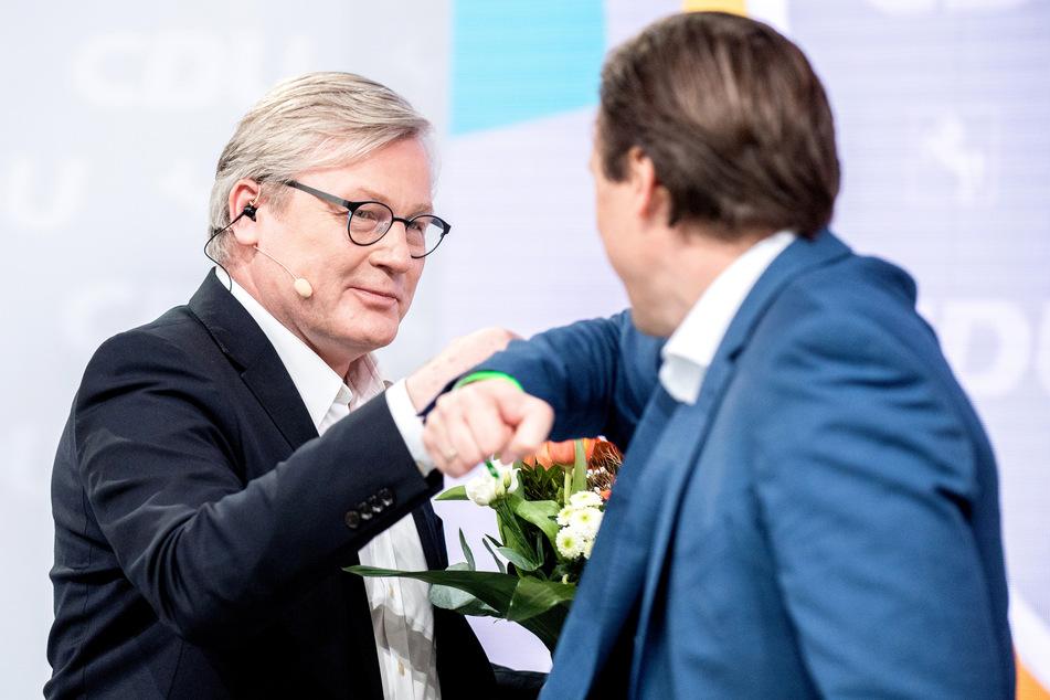 Online abgestimmt: Bernd Althusmann als CDU-Landeschef wiedergewählt