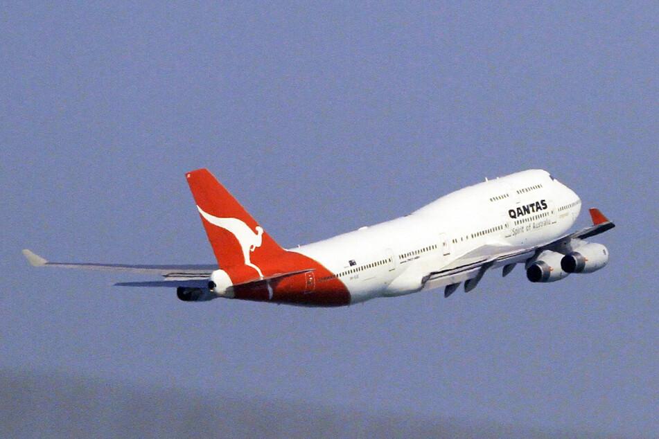 """Eine Boeing 747 von """"Qantas"""". (Archivbild)"""