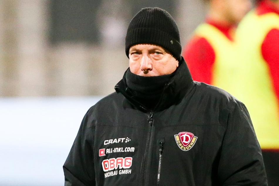Dynamo-Coach Markus Kauczinski (50) bemängelte bei seinem Team den fehlenden Zug zum Tor.