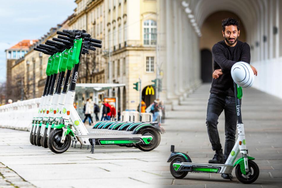Dresden: Abgefahren! Plötzlich sind alle E-Roller aus Dresden verschwunden