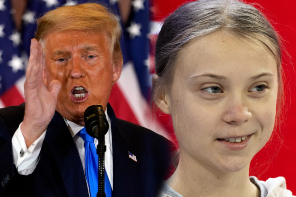 """Chill Donald, Chill!"": So fies macht sich Greta über Trump lustig"