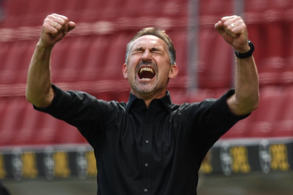 Achim Beierlorzer (53) könnte schon bald an seine alte Wirkungsstätte zurückkehren. Aktuell gibt es daher wohl Gespräche zwischen RB Leipzig und dem 1. FSV Mainz 05.