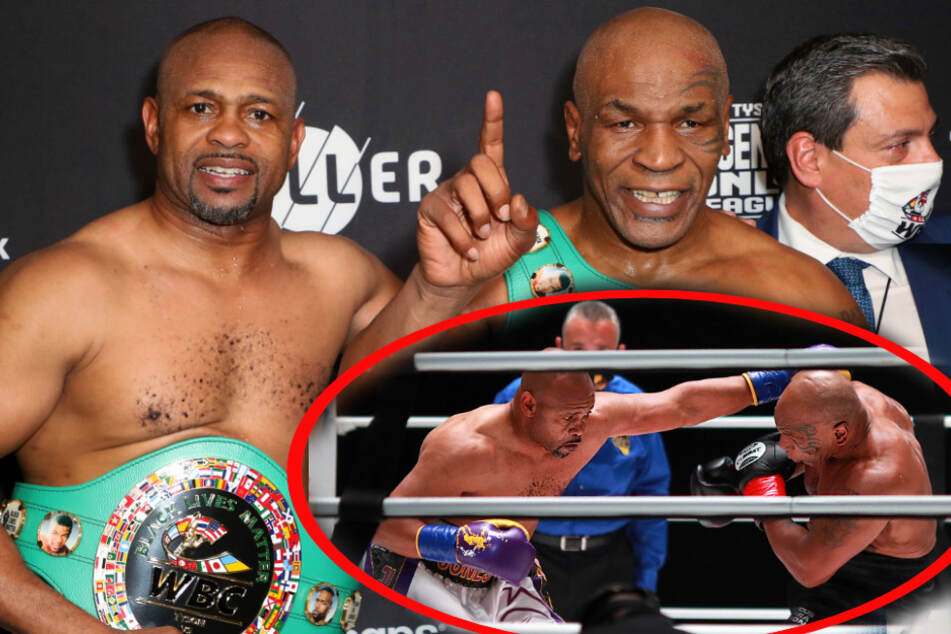 Box-Spektakel von Mike Tyson und Roy Jones Jr.: Was für ein Fight! So lief der Kampf ab