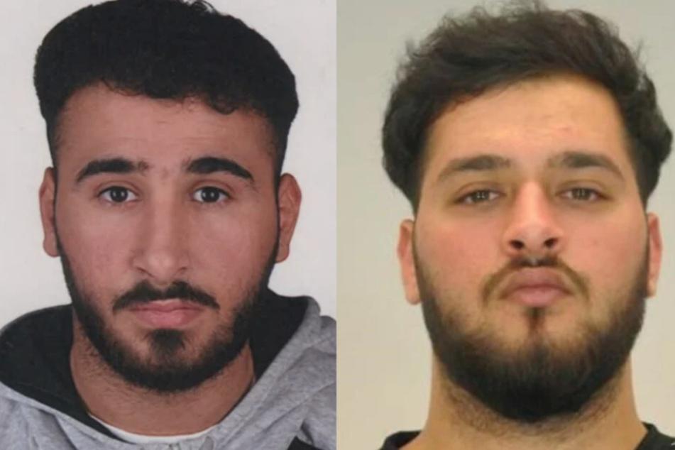 Abdul Majed (21, l.) und Mohamed Remmo (21) werden gesucht.