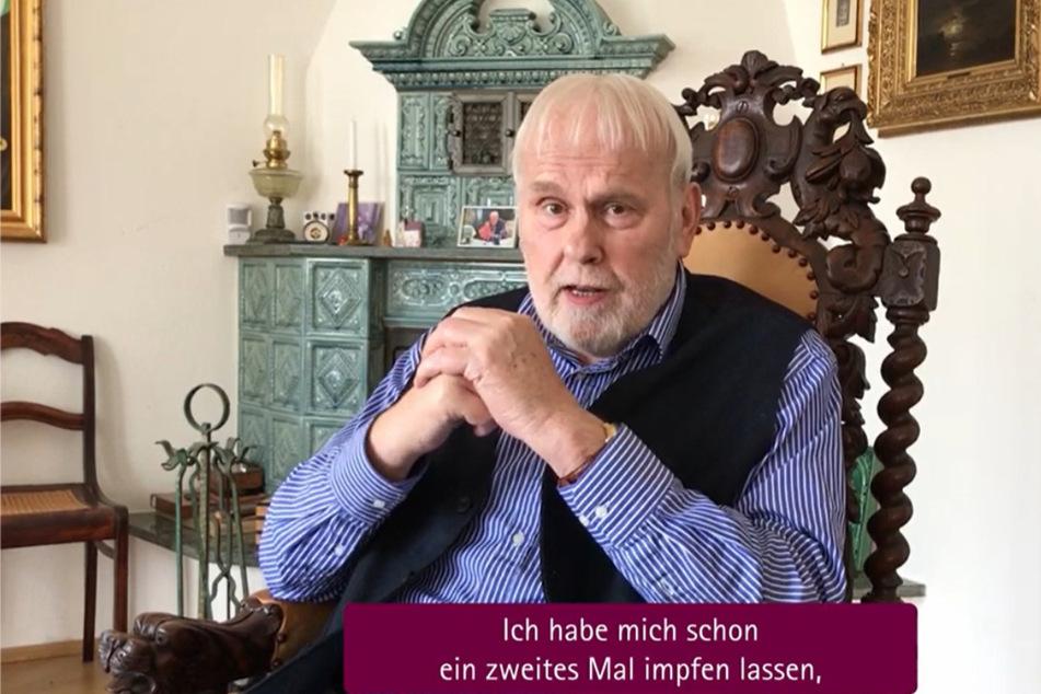 Sänger und Moderator Gunther Emmerlich (76).