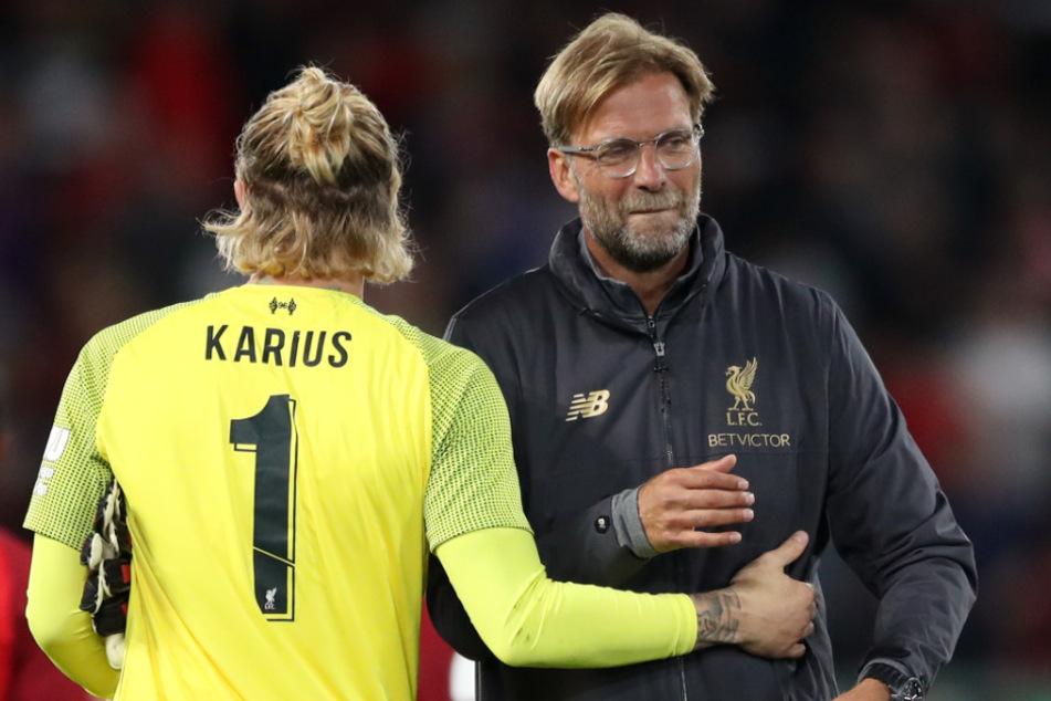 Was einst so vielversprechend begann, dürfte schon bald endgültig vorbei sein. Loris Karius unter Jürgen Klopp (54) beim FC Liverpool.
