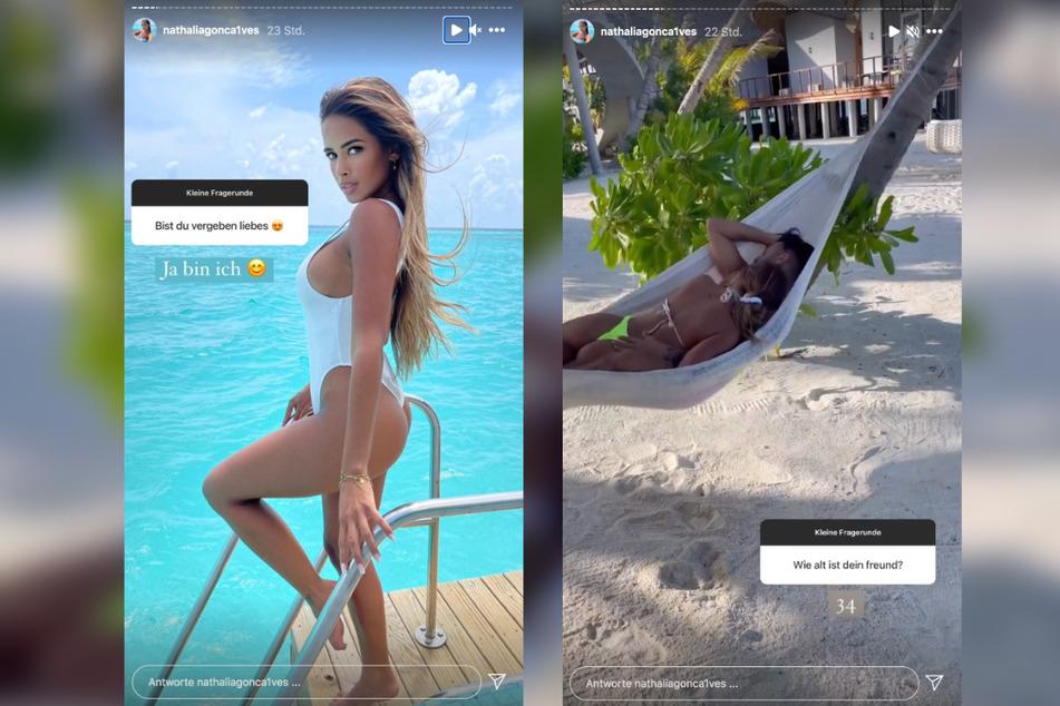 Auf Instagram macht Nathalia (27) ihre neue Liebe offiziell.