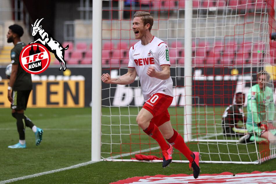 1. FC Köln: Kainz macht's mit Köpfchen und so gut war er noch nie