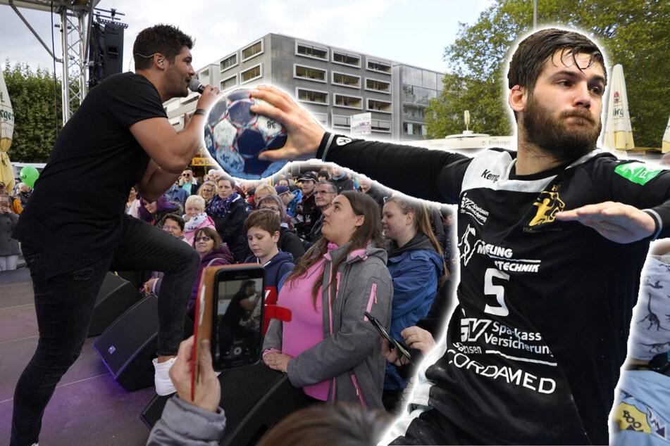 Wenn ein Profi die Bühne wechselt: Dieser Handballer wird jetzt ein Schlagersänger