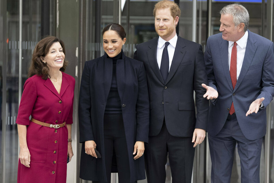 Harry and Meghan hosted by New York's top brass ahead of Global Citizens Live event