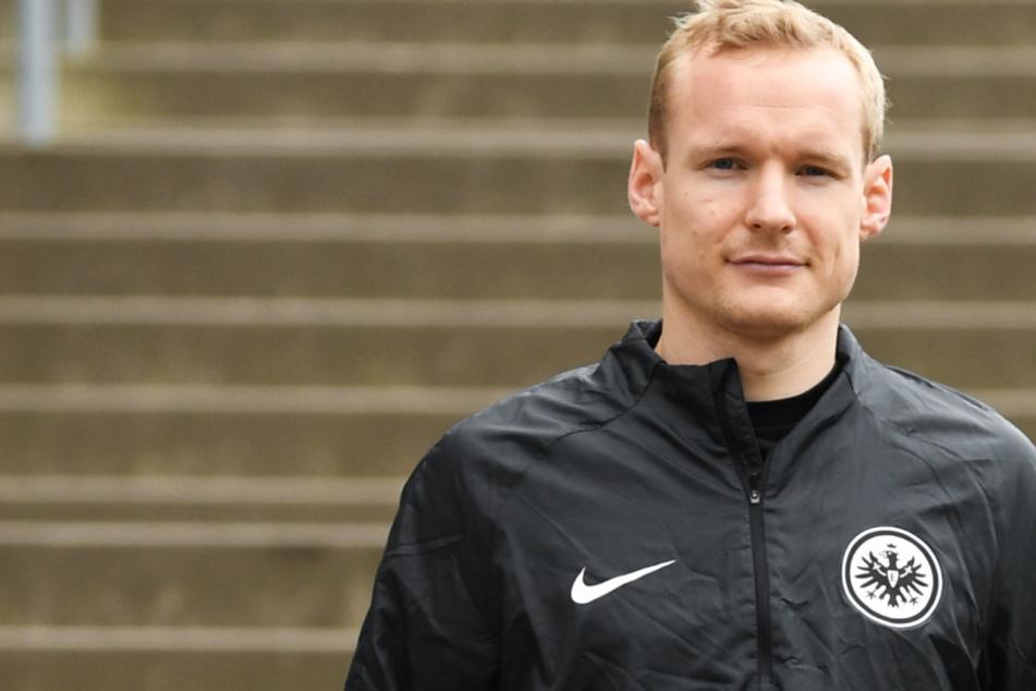 Das Foto vom März dieses Jahres zeigt Sebastian Rode (30) von Eintracht Frankfurt.