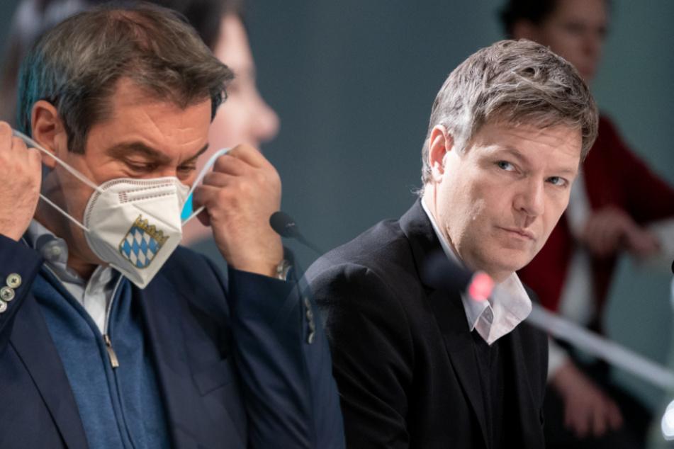 Robert Habeck rechnet mit Markus Söders Corona-Krisenmanagement ab