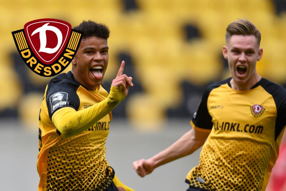 4:0! Dynamo jubelt über den Aufstieg in die 2. Bundesliga