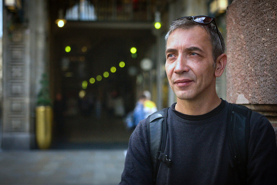 Mike Dietrich von den Big City Breakers Leipzig verliebte sich in den 80ern in Breakdance und Hip Hop.
