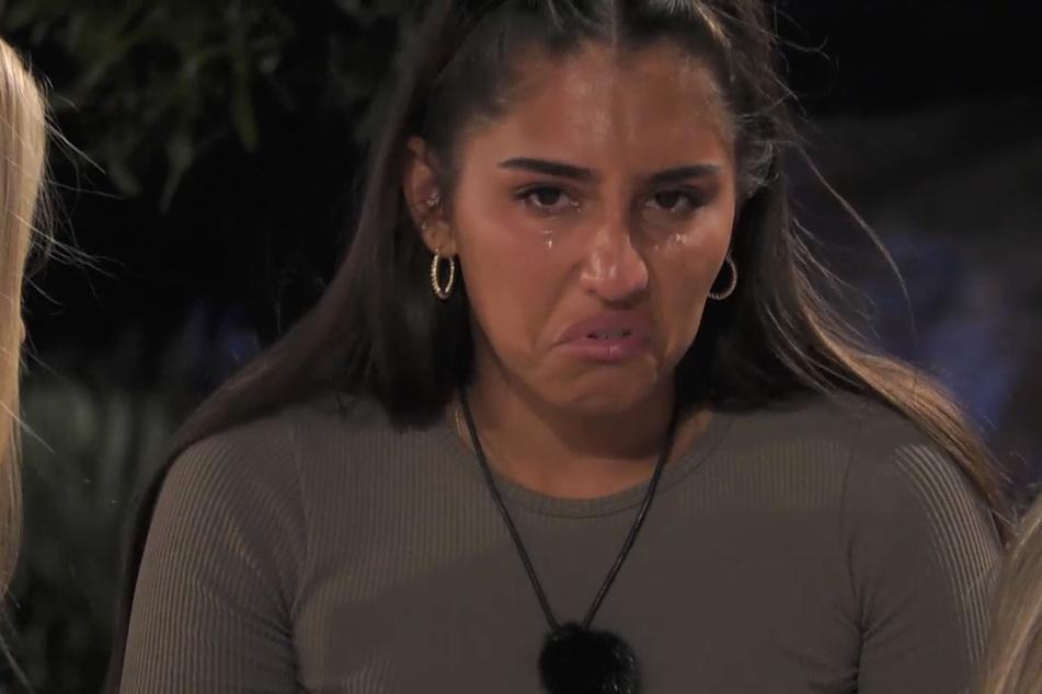 Wenig vorteilhaft: Aurelia (24) vergießt einmal mehr Tränen wegen Diogo (26).