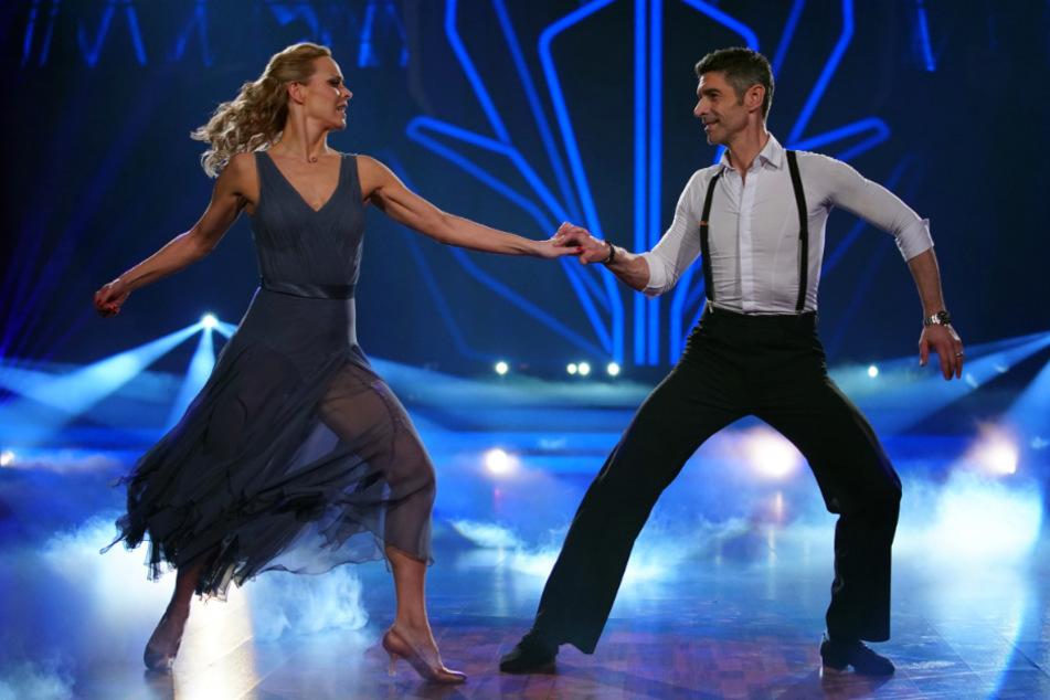 Gemeinsam mit ihrem Ehemann Marcus Weiß trat Profi-Tänzerin Isabel Edvardsson bei Let's Dance auf.
