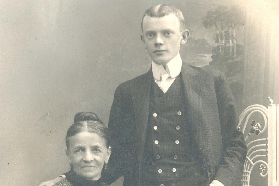 Valentin und seine Mutter kamen 1906 zurück nach Zittau.