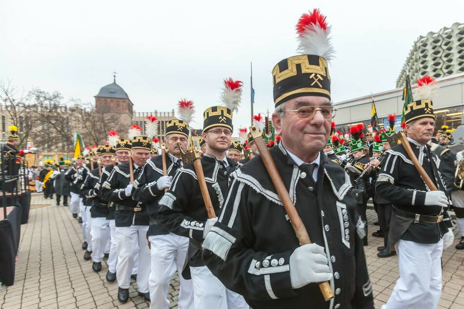 Die Bergparade in Chemnitz fällt 2020 aus.