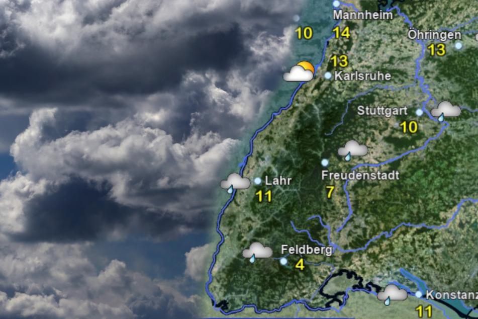 Ohje! Dieses Wetter erwartet uns am Mittwoch und Donnerstag