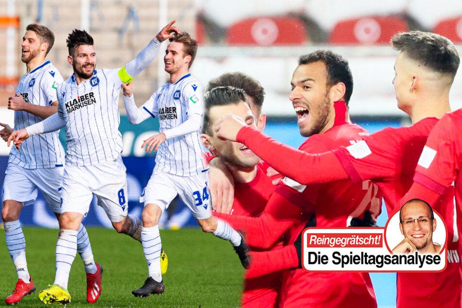 Deutscher Profifußball: Vier Teams überraschen in ihren Ligen positiv!