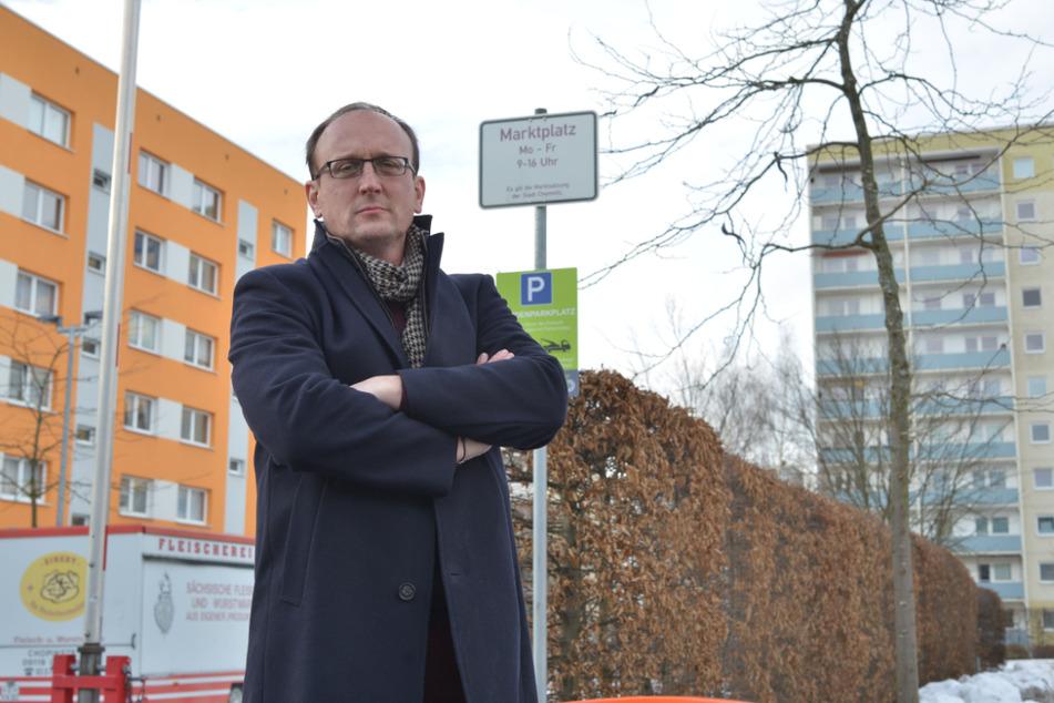 SPD-Stadtrat Jörg Vieweg (49) hatte für den Straßenausbau gekämpft.