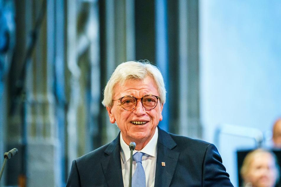 Volker Bouffier (69, CDU), Ministerpräsident von Hessen.
