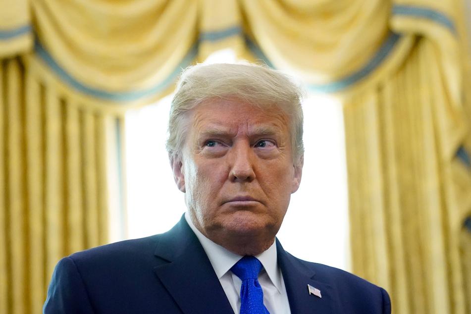 Donald Trump (74) bestreitet, seiner Frau Melania fremd gegangen zu sein.