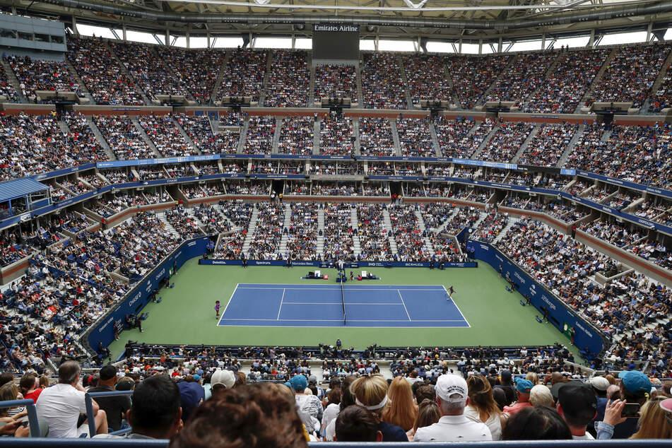 So gut besuchte Tennis-Turniere wie hier im Bild die US Open von 2019 wird es dieses Jahr in China vorerst nicht geben.