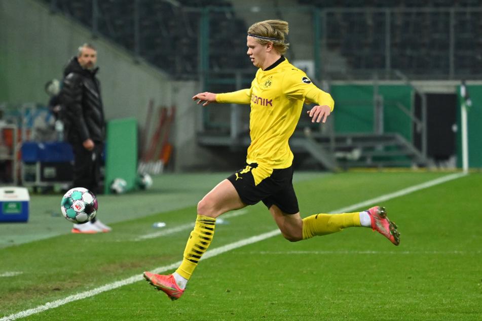 Erling Haaland (20) wird beim Spiel gegen die Bayern erneut im Fokus stehen.