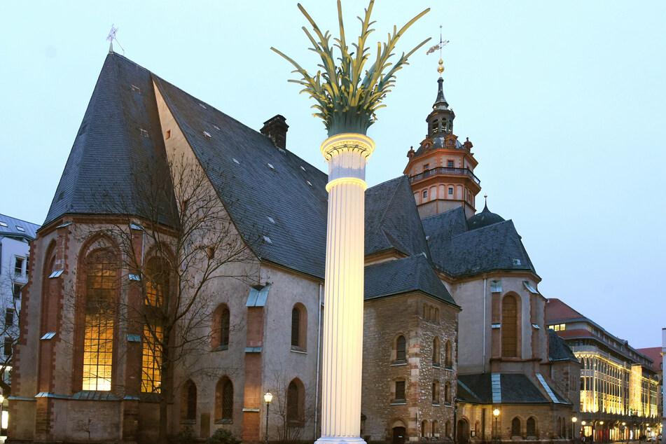 In der Nikolaikirche soll die Andacht am Sonntag stattfinden - Leipziger können sich via Livestream zuschalten. (Symbolbild)