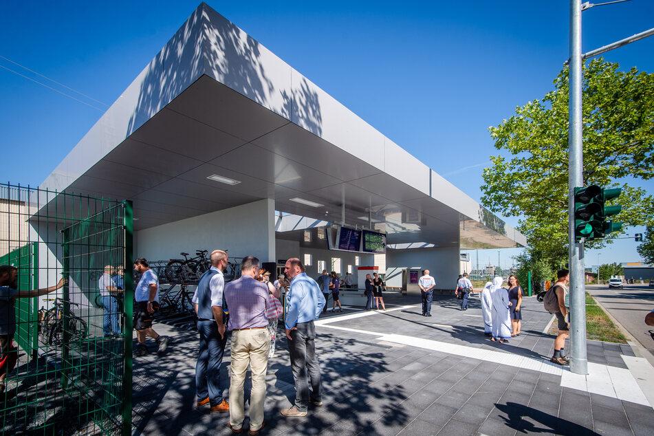 Große Eröffnung, kleine Panne: Neuer Tunnel zum Chemnitzer Hauptbahnhof
