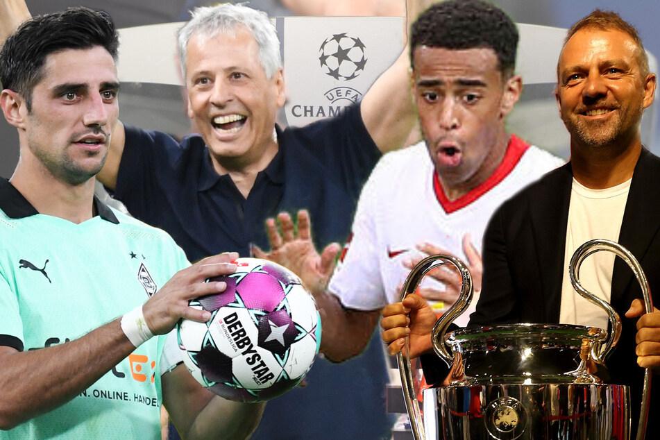 Champions League: Hohe Hürden für RB & Gladbach, Losglück für Bayern & BVB