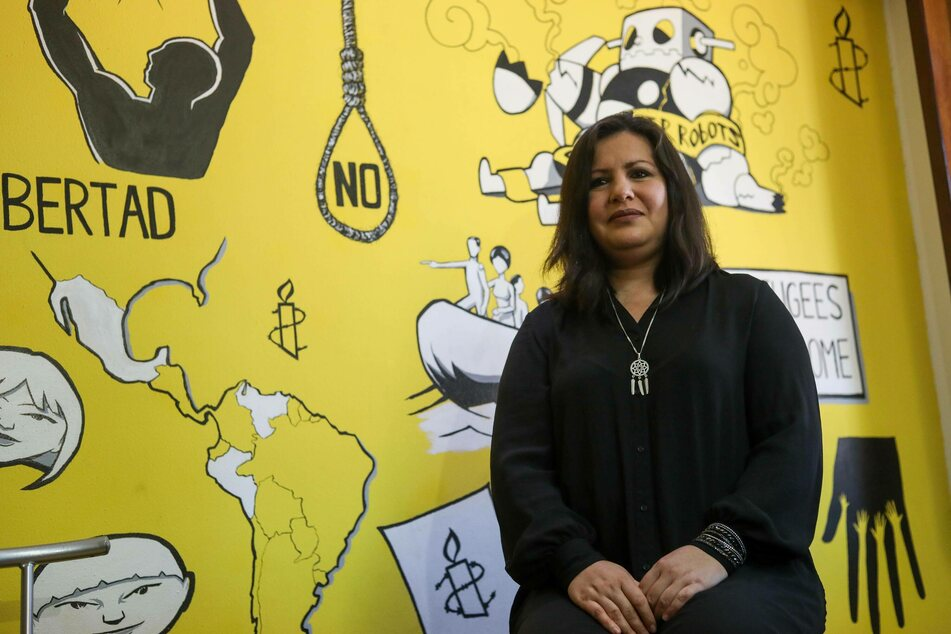 Erika Guevara-Rosas, Americas director for Amnesty International, spoke out against US investment in Latin American military and paramilitary groups.