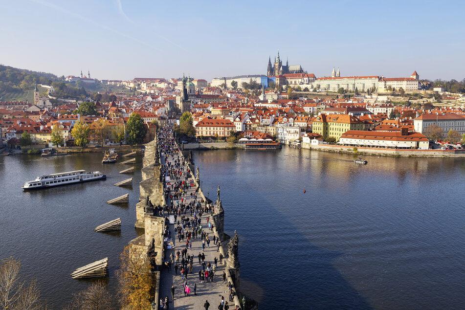 Prag ist derzeit Hotspot der Neuinfektionen.
