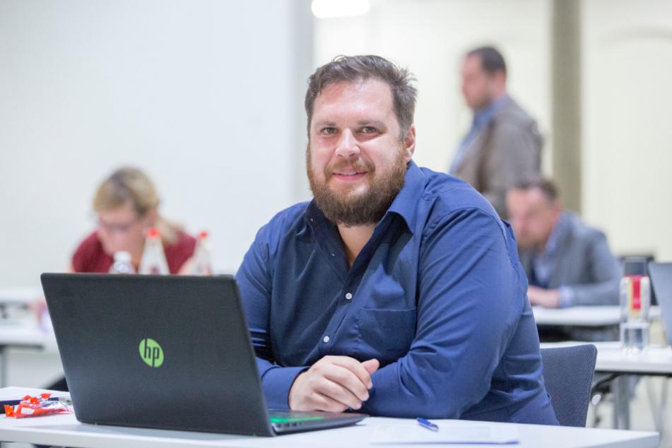 """Vincent Drews (32, SPD) ärgert sich über den """"rechtskonservativen Block"""" im Rat."""