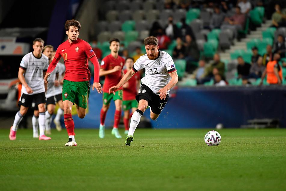 Salih Özcan (23, r.) im Finale der U21-Europameisterschaft im Juni 2021 gegen Portugal.