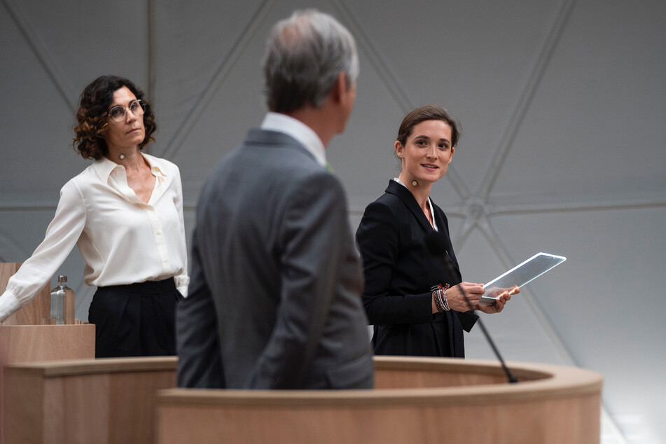 """""""Ökozid"""" - Gerichtsdrama mit Nina Kunzendorf (48) und Friederike Becht (33) im Ersten."""