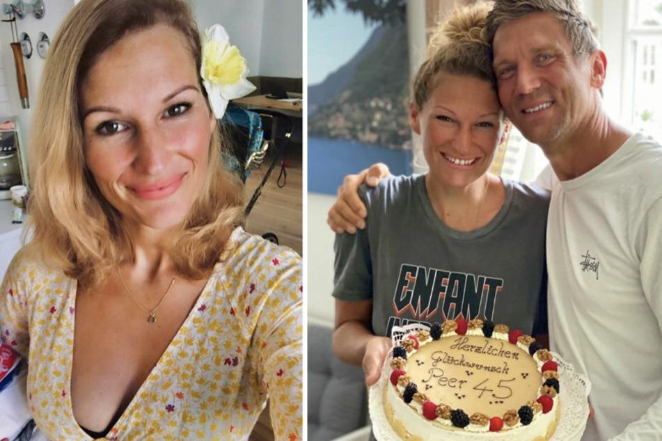Janni Hönscheid gratuliert Ehemann Peer Kusmagk zum 45. Geburtstag.
