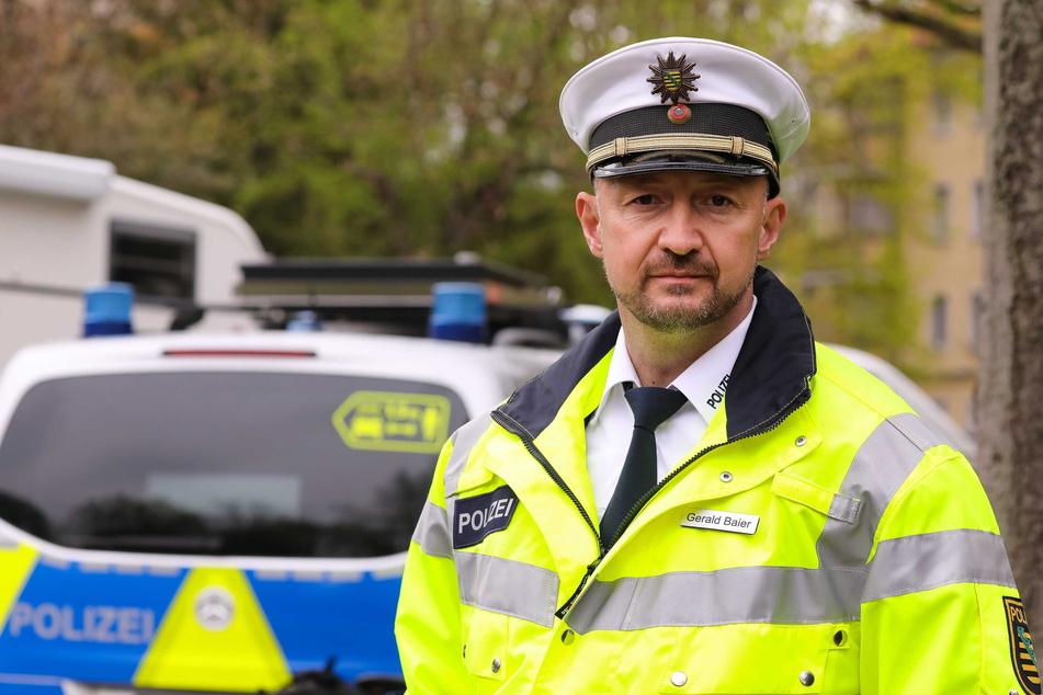 Gerald Baier (44), Leiter der Verkehrspolizeiinspektion, hofft, dass die Kontroll-Aktion die Verkehrsteilnehmer sensibilisiert hat.