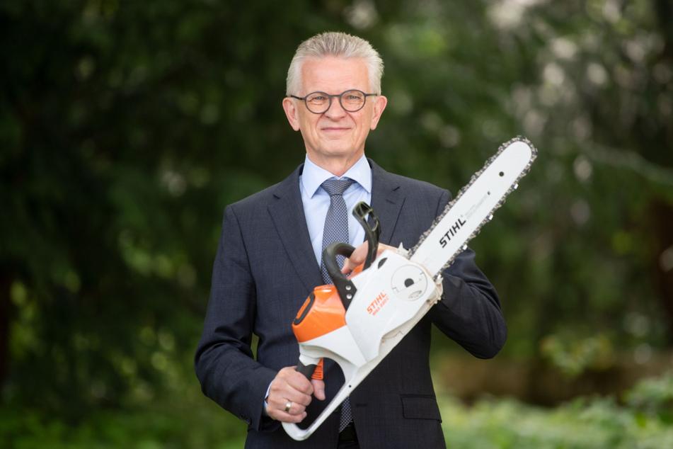 Stihl-Vorstandschef Bertram Kandziora.